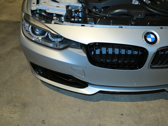 F30 3 Series Grill and Whisker Comparison
