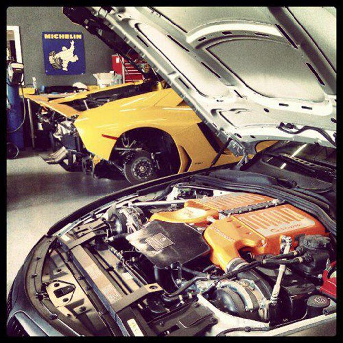 Aventador and G-Power