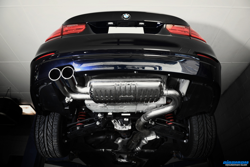 BMW F I Eisenmann Performance Exhaust Available Now From PSI - 2008 bmw 335i aftermarket parts