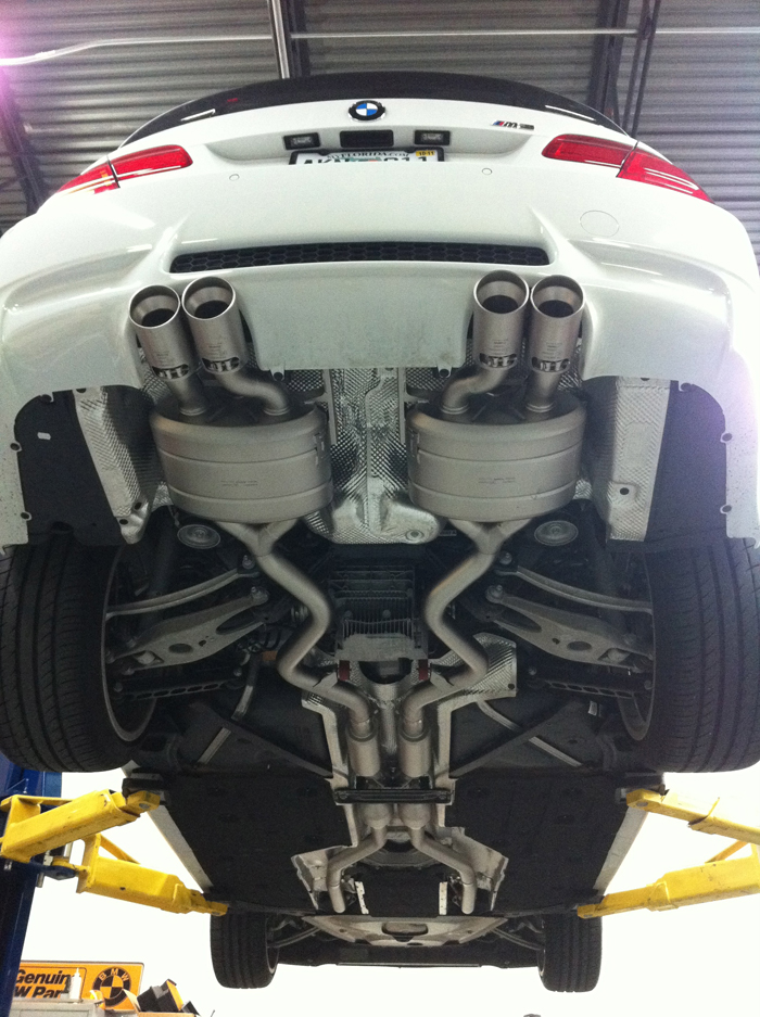 Akrapovic Exhaust E92 M3