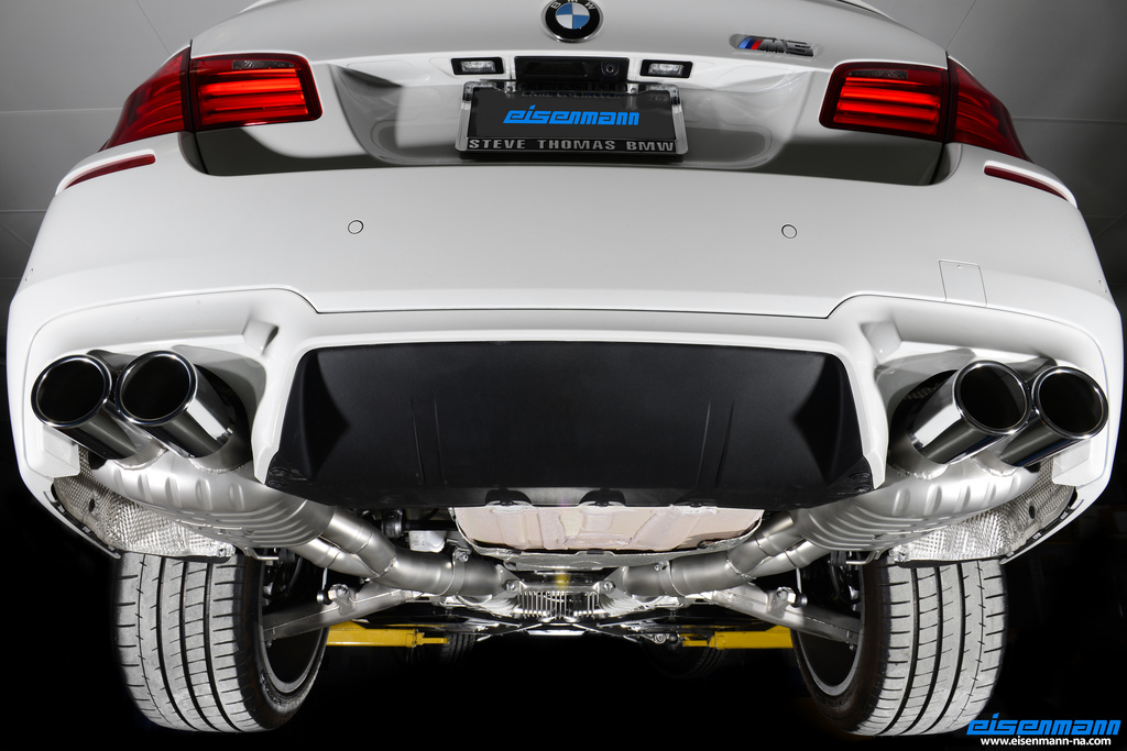 F10 M5 Exhaust by Eisenmann