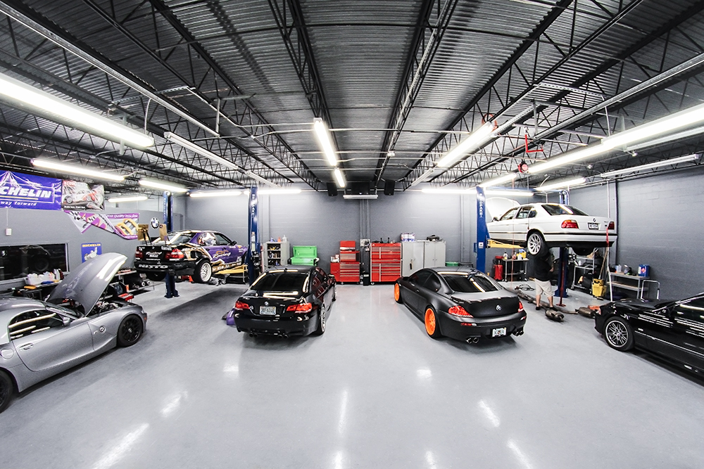 Best Automotive Workshop Design