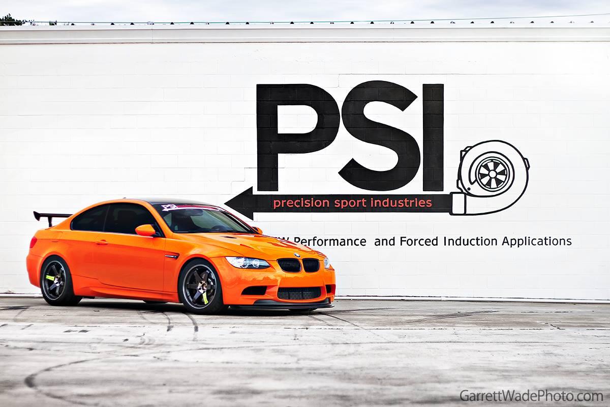 PSI Project Fire on Volk TE37 SL Black Editions