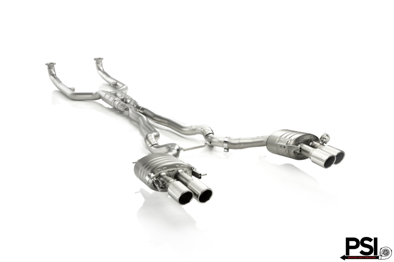 Akrapovic Exhaust System for F10 M5 by PSI