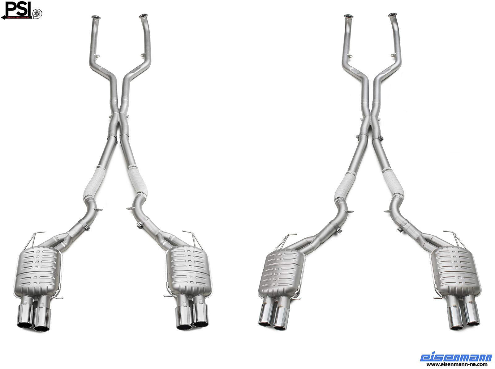 Eisenmann BMW F10 M5 Exhaust System by PSI