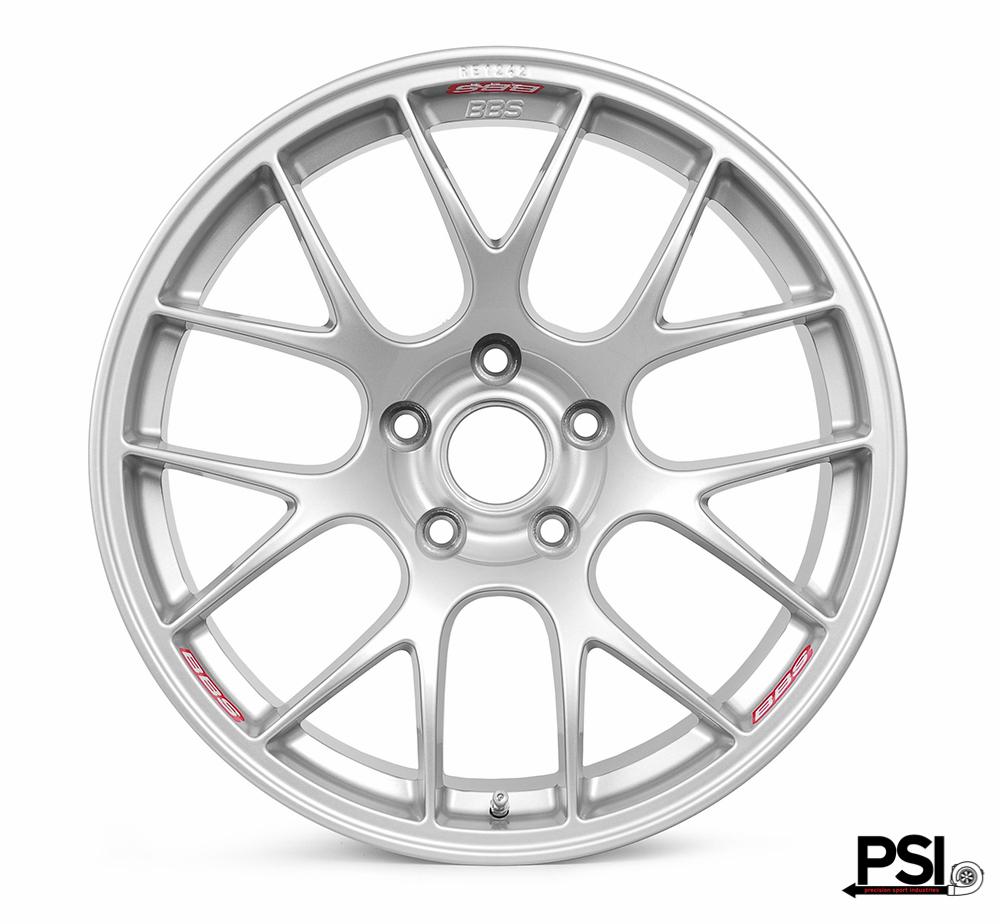 BBS RE GT4 Silver