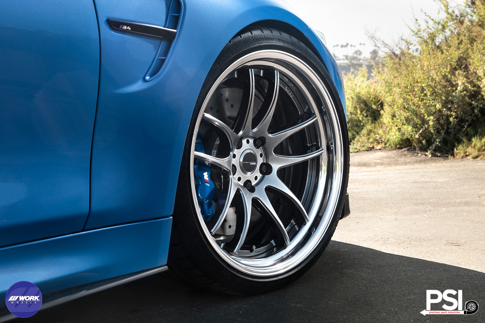 Work Emotion Wheels On A Bmw M4